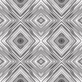 对角方形的缠结线样式 免版税库存图片