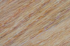 对角明亮的白栎木台面厚木板纹理 免版税库存图片