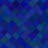 对角波浪瓦片无缝的样式 免版税库存照片