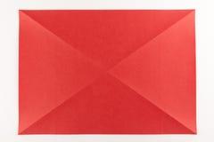 对角线被折叠的页 免版税库存图片