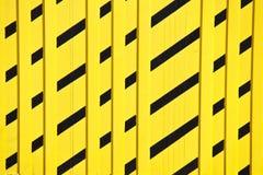 对角黄色和黑样式5136 免版税库存照片