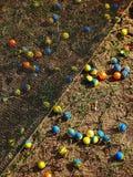 对角paintball 免版税库存图片