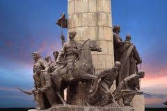 对解放战争的英雄的纪念碑1648-1654在Ukr 免版税库存图片