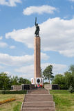 对警卫的纪念碑 免版税库存图片