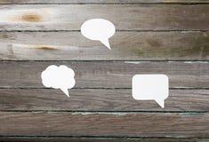 对话和幻想 免版税库存图片