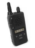 对话多的walkie 免版税库存图片
