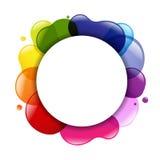 对话气球和颜色 库存图片