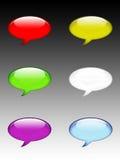 对话符号 图库摄影