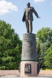 对谢尔盖宇航员胡同的Pavlovich Korolev的纪念碑在莫斯科 免版税库存照片
