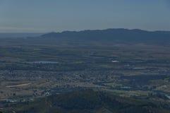 对谷的看法从Boland山 库存照片