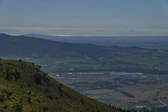 对谷的看法从Boland山 库存图片