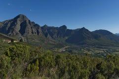 对谷的看法从Boland山 免版税库存图片
