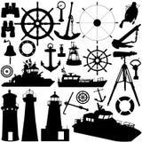 对象航行向量 免版税库存照片