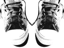 对运动鞋 免版税图库摄影