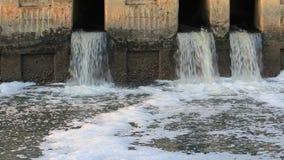 对运河的废水 股票录像
