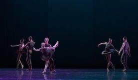 对遭遇古典芭蕾` Austen汇集` 库存图片