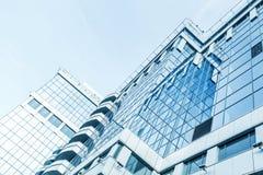 对钢的全景和透视广角视图 免版税库存照片