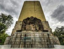 对阿尔瓦斯Obregon的纪念碑 免版税库存图片