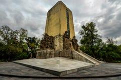 对阿尔瓦斯Obregon的纪念碑 免版税库存照片