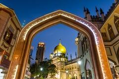 对阿拉伯街道的入口 免版税库存图片