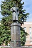 对陆军五星上将Apanasenko的纪念碑 别尔哥罗德州 俄国 库存照片