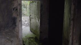 对隧道的一个入口 影视素材