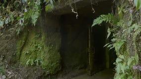 对隧道的一个入口 股票视频