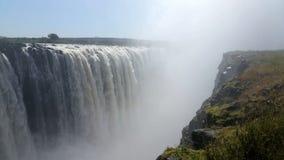 对非洲的秋天的威力和秀丽的没有末端 免版税库存图片