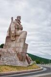对革命的水手的纪念碑 免版税库存图片