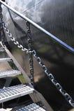 对水下博物馆的楼梯 免版税库存图片