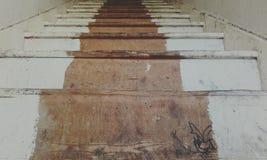 对什么的楼梯? 免版税库存照片