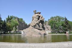 对死亡的雕塑立场 免版税库存图片