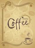 对任何创造性的现代设计的时髦餐馆菜单背景 库存图片