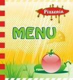 对任何创造性的设计的时髦餐馆菜单背景 免版税图库摄影