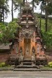对巴厘语寺庙的词条 免版税库存图片