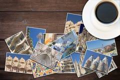 对巴塞罗那概念的旅行 免版税库存图片