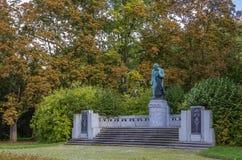对贝多芬,卡洛维的纪念碑变化 图库摄影