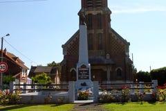 对索姆省的失踪的蒂耶普瓦勒纪念品 库存图片