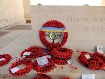 对索姆省的失踪的蒂耶普瓦勒纪念品 库存照片