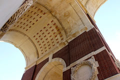 对索姆省的失踪的蒂耶普瓦勒纪念品 免版税图库摄影