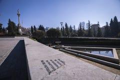 对维尔京的胜利的纪念碑在胜利庭院里, 免版税库存图片