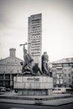 对水手的纪念碑在基辅 免版税库存照片