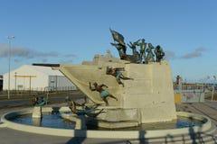 对水手的纪念碑在蓬塔阿雷纳斯 免版税库存图片