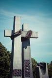 对1956年6月的受害者的纪念碑在波兹南 波兰 库存照片