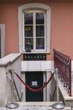 对画廊的入口 免版税库存照片