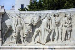 对1812的宪法的纪念碑,卡迪士,西班牙 免版税库存照片