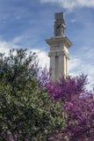 对1812的宪法的纪念碑 免版税库存图片