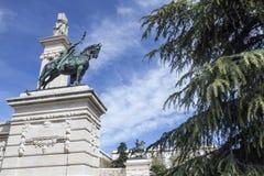 对1812的宪法,装饰细节的纪念碑 免版税库存图片