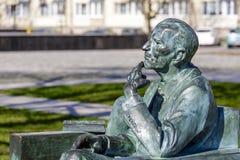 对细节的1月Karski,雕象 库存照片