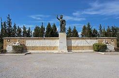 对300 spartans的纪念品,希腊 免版税库存图片